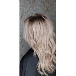 Затемнение блонда